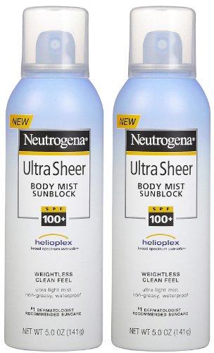 Neutrogena Ultra Sheer Spf100 Spray