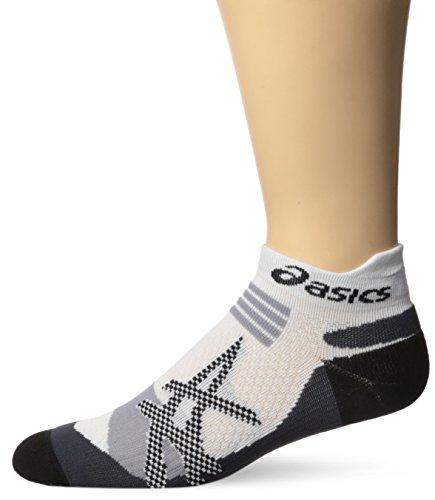 Asics Kayano Socks - ASICS Kayano Single Tab Sock, X-Large, White/Grey