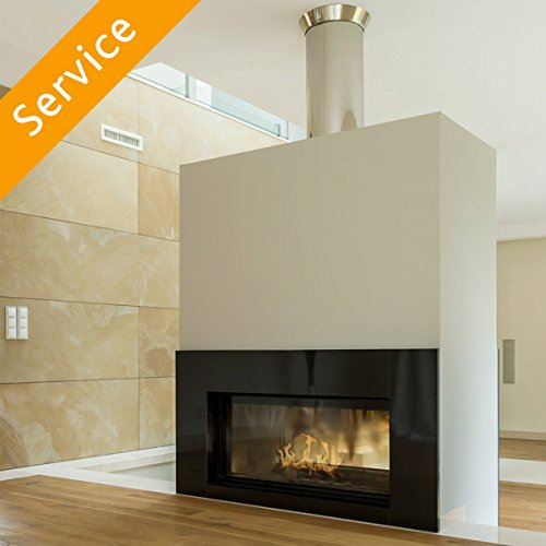 Chimney Cleaning and Inspection – 1 fireplace