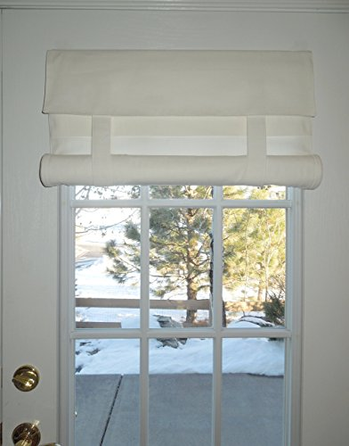 White French Door Curtain (Color is off white) 1 panel