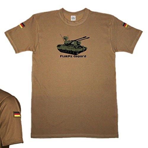 (BW tropical FlakPz Gepard anti-aircraft tank tank original tropical Shirt TL tropical shirt ISAF Bundeswehr KSK Tee Shirt- T Shirt # 14689)