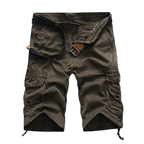 Da Uomo Con Cargo Pantaloni Pantaloncini Abbigliamento Grau Festivo Corti Tasche Giovani Ragazzi Cotone In Moda Diritti Multiple Lavoro Di Eq5ZnwnS