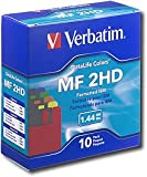 Verbatim Floppy Disks (10-Pack) - Multicolor