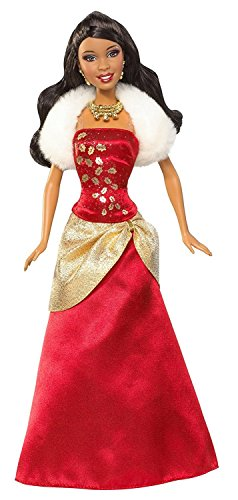 Search : Barbie Holiday Wishes African-American Doll