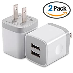 iphone charger adapter iphone wall charger dual port usb charger 2 11724