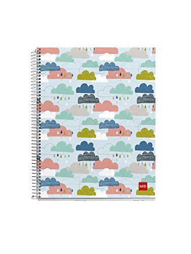 Miquelrius 2483–Notebook, 140Sheets, A4, Multi-Colour by Miquel Rius
