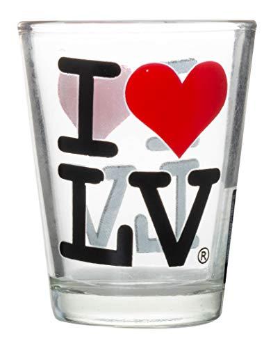 - I Love Las Vegas Souvenir Glass Shot Glass
