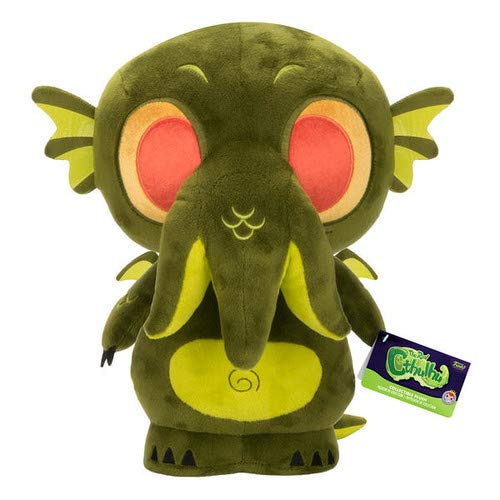 - Funko Supercute Horror Cthulhu Dark Green Plush Collectible 12