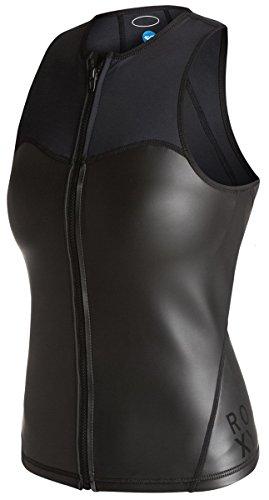 Roxy Womens Wear (Roxy Womens Roxy Xy Hybrid Fz Vest - 12 - Black Black 12)
