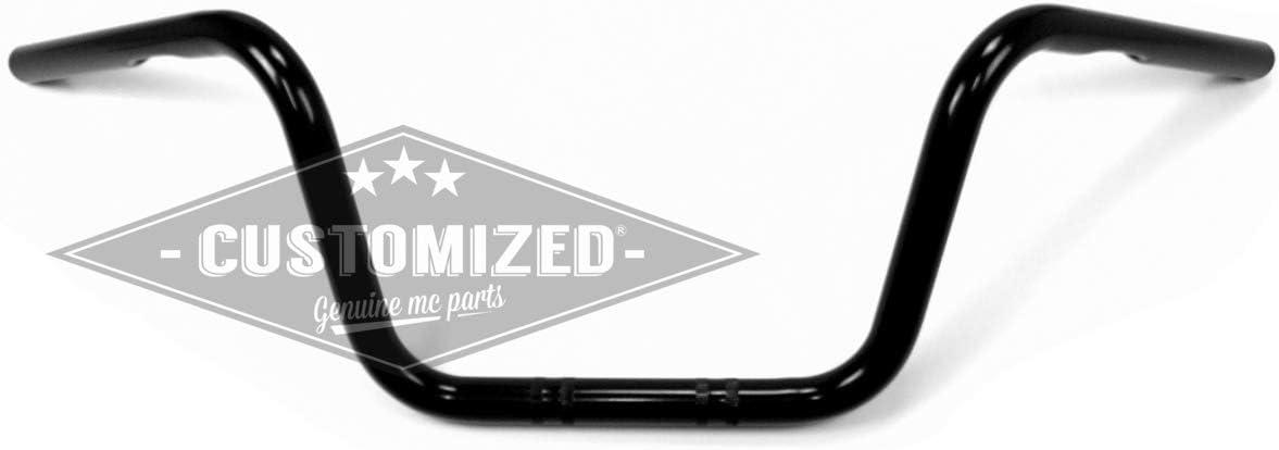 Universal Handlebars Ape Hanger 22cm Black 25,4mm 1 inch