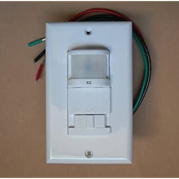 Amazon Com Occupancy Wall Motion Sensor Detector 120v Ac