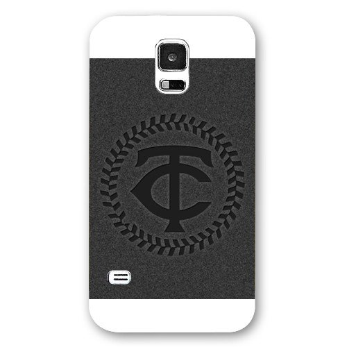 Galaxy S5 Case, Onelee(TM) MLB Minnesota Twins Samsung Galaxy S5 Case [White Frosted Hardshell]