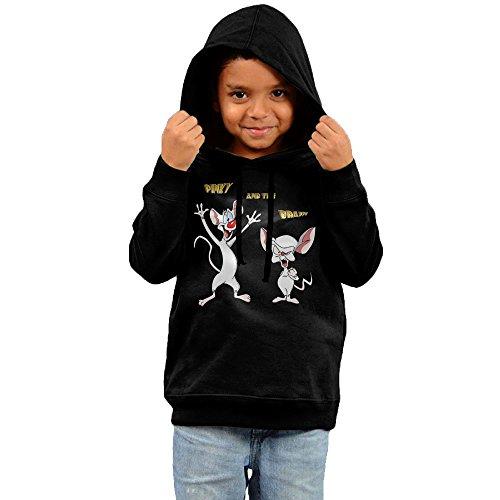 [Pinky And The Brain Girls & Boys Cool Hoody 5-6 Toddler] (Freakazoid Costume)