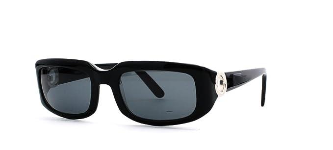 Cartier negro rectangular Certificado Vintage gafas de sol ...