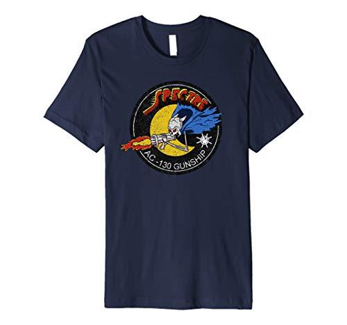 Vietnam AC-130 Gunship Ghost Aerial Gunner Shirt