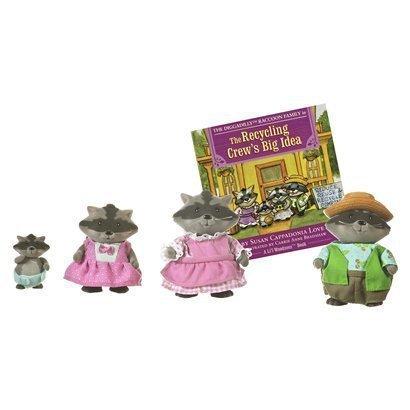 Lil Woodzeez Diggadillys Raccoon Family
