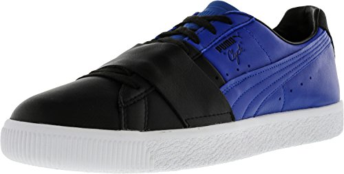 official cheap price sale low shipping fee PUMA Select Men's Clyde Colorblock Sneakers Black/Blue Orange 100% Original cheap sale find great cheap sale sale PMoq0