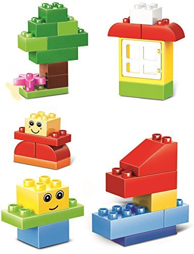 Little Builder Designer Building Bricks Toy, Large