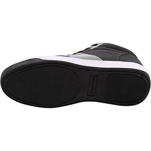 Sean John - Heren Metallica Cap Teen Mid Fashion Sneaker - Zwart