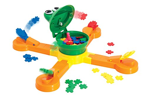 Mouth Frog - The Classic TOMY Mr. Mouth Feed The Frog Game (Renewed)
