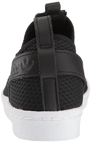 Adidas Originals Womens Superstar Slipon W Sneaker Core Nero / Core Nero / Bianco