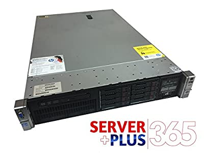 Enterprise HP ProLiant DL380p G8 2 x 2.8 GHz E5-2680 V2 10-Core Procs, 128GB RAM, 8x HDD Trays, 1GB Cache, DVD, Rails