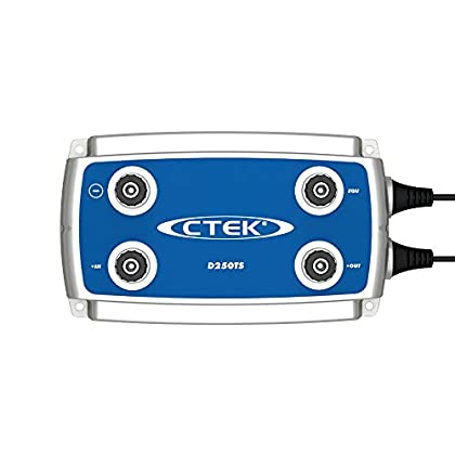 Image of CTEK (56-740) D250TS 4-Step, Fully Automatic 24 Volt 10 Amp DC/DC Battery Charger Battery Accessories