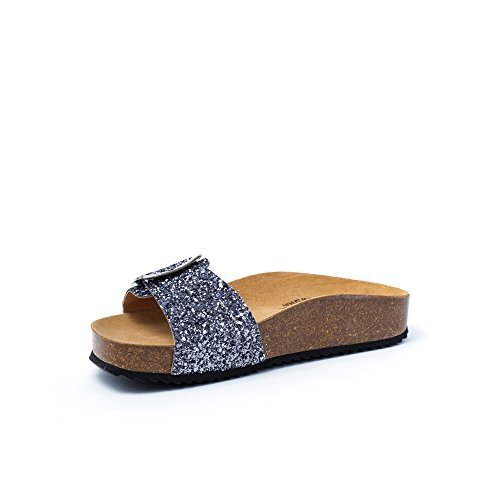 Plakton Sabot Donna Plomo sandali sandali Plakton Sabot Donna tA4xBwPqn6