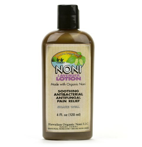 Lavender Noni Lotion by Hawaiian Health 4oz by Hawaiin Organic Noni