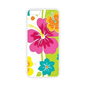 "super shining day Cellphone Accessories Hawaiian Flower Apple 4.7"" iPhone 6 TPU Material Shell"