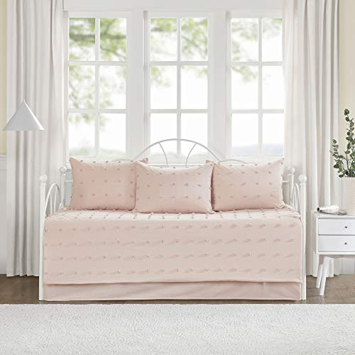 Urban Habitat Brooklyn Cotton Jacquard Daybed Set Pink Daybed