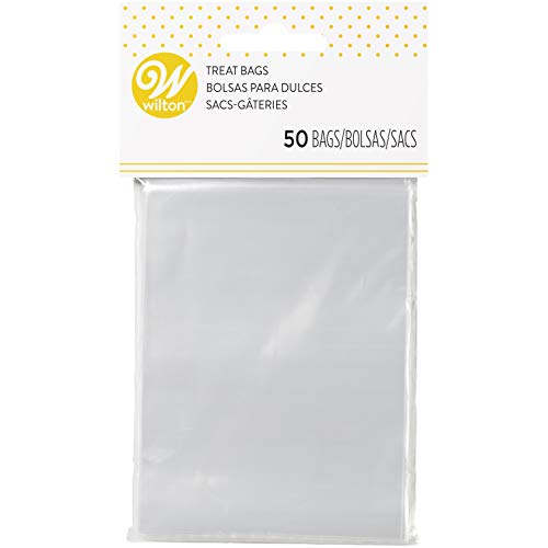 Wilton Clear Treat Bags - 50 Count -