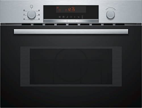 Bosch CMA583MS0 Microondas, 900 W, 44 litros, Negro, Acero ...
