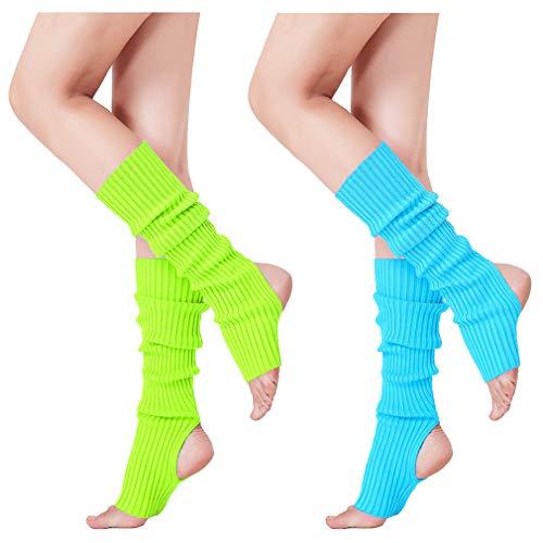 Eighties Dress Up - V28 Women's Neon Knit Leg Warmer