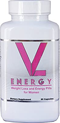 VL ENERGY Weight Loss and Energy Pills for Women 60 Capsules - Best Diet Pills That Work Fast for Women