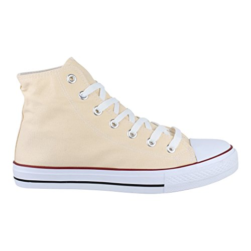 Sneaker Sneakers High Tessile nbsp; Per Top Uomo Unisex 36 Sport Donna Elara Scarpe OUq5az