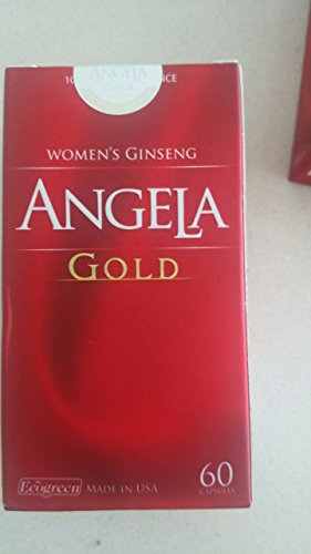 06 boxes * 60 Capsule ANGELA GOLD Ginseng - Women Estrogen, Progesterone, Testosterone - Sexual Health by ANGELA GOLD Ginseng (Image #3)