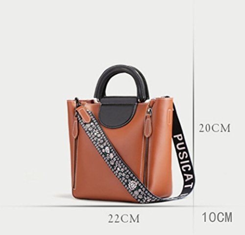 Bag Messenger Vintage Large Handbags Simple Black Crossbody Shopping Casual Fashion Bags 56xwqPdU