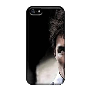 Tpu Fashionable Design Orlando Bloom Actor Man Person Brunette Hair Disheveled Eyes Rugged Case Cover For Iphone 5/5s New