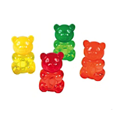 Gummy Teddy Bubble Bottles Count product image