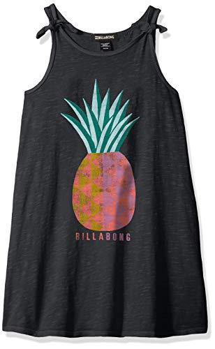 (Billabong Girls' Girls' Beach Song T-Shirt Dress Black)