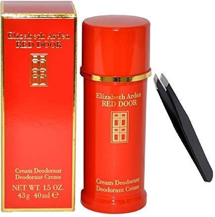 1.5 oz Deodorant Cream +PROFESSIONAL TWEEZER