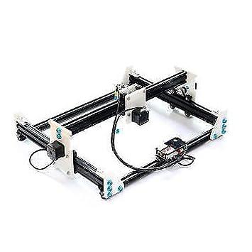 EleksMaker EleksLaser A3X-2500mw Máquina de grabado láser Impresora láser CNC: Amazon.es: Bricolaje y herramientas