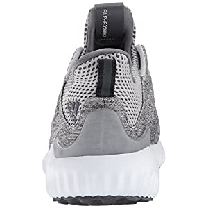 adidas Performance Women's Alphabounce Em w Running Shoe, Grey Five/Grey Two/White, 10.5 Medium US