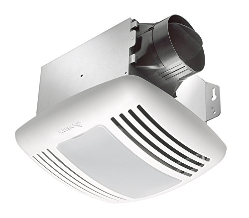 Delta BreezGreenBuilder GBR50L 50 CFM Exhaust Bath Fan with Light