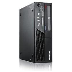 Lenovo ThinkCentre M58 Desktop with Intel Core2 Duo 3.0 GHz Processor, 8GB RAM, 2 TB Hard Drive DVD-ROM, Windows 10 Pro (Certified Refurbished)