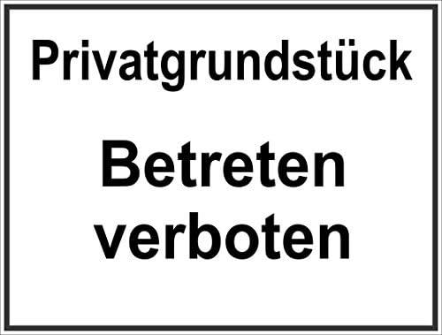 selbstklebend 10x4cm Betteln und Hausieren verboten Hinweisschild f/ür Gewerbe//Privat INDIGOS UG