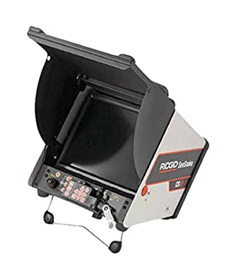 RIDGID 39328 SeeSnake CS10 Digital Recording Monitor with Recording to USB for SeeSnake Inspection Cameras (Battery Sold Separately)
