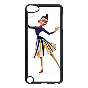iPod Touch 5 Case Black Disney Meet the Robinsons Character Franny Robinson VCE_01752
