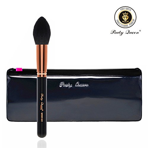 Face Makeup BrushesParty Queen Rose Golden Tapered - Import It All